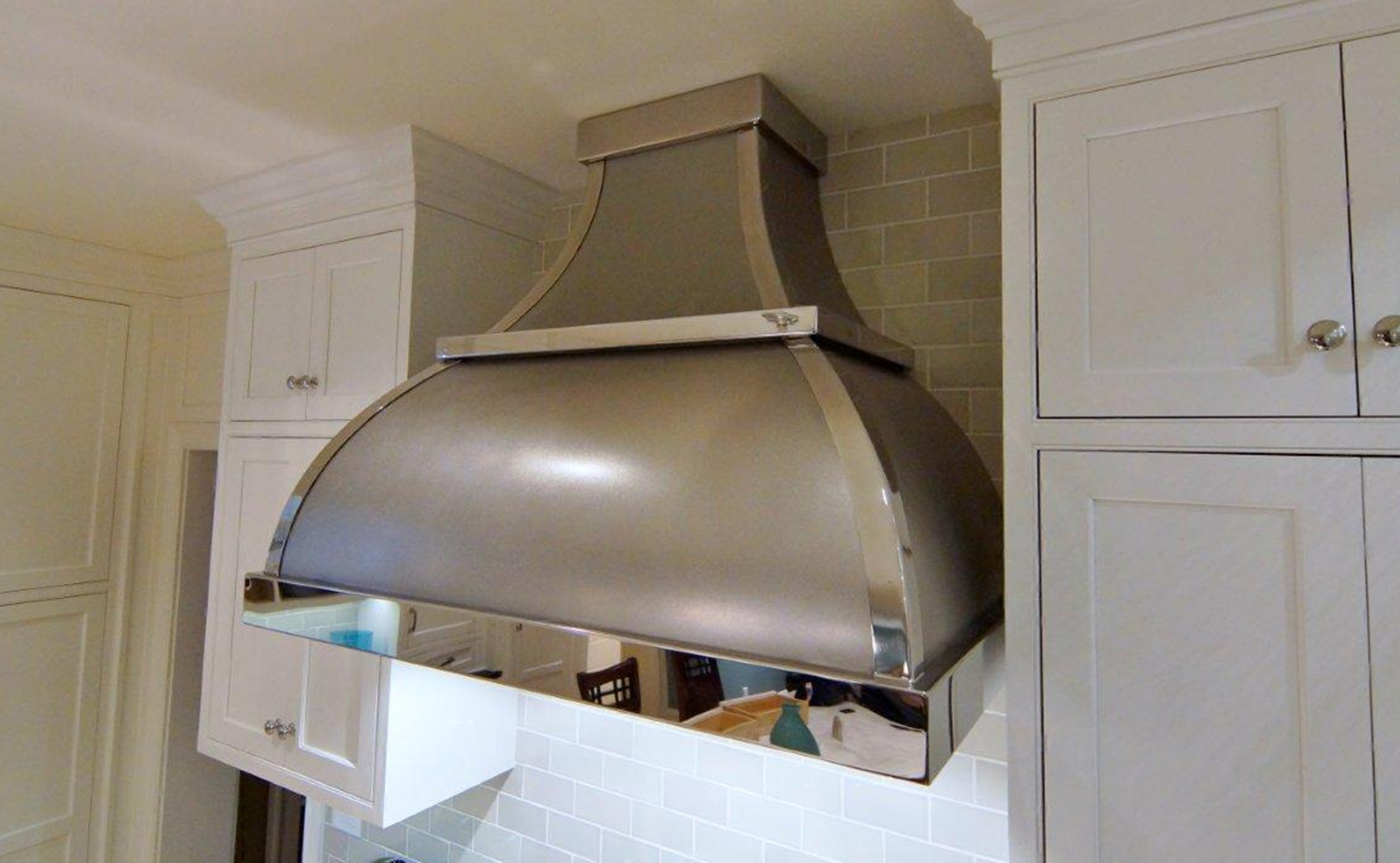 Custom kitchen hoods westfield sheet metal works for Perfect kitchen fabrication